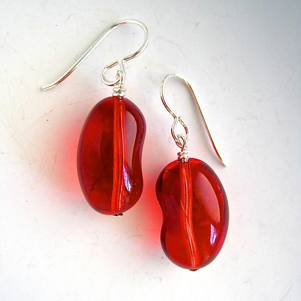 kidney products grande dsc bean earrings artyfactos